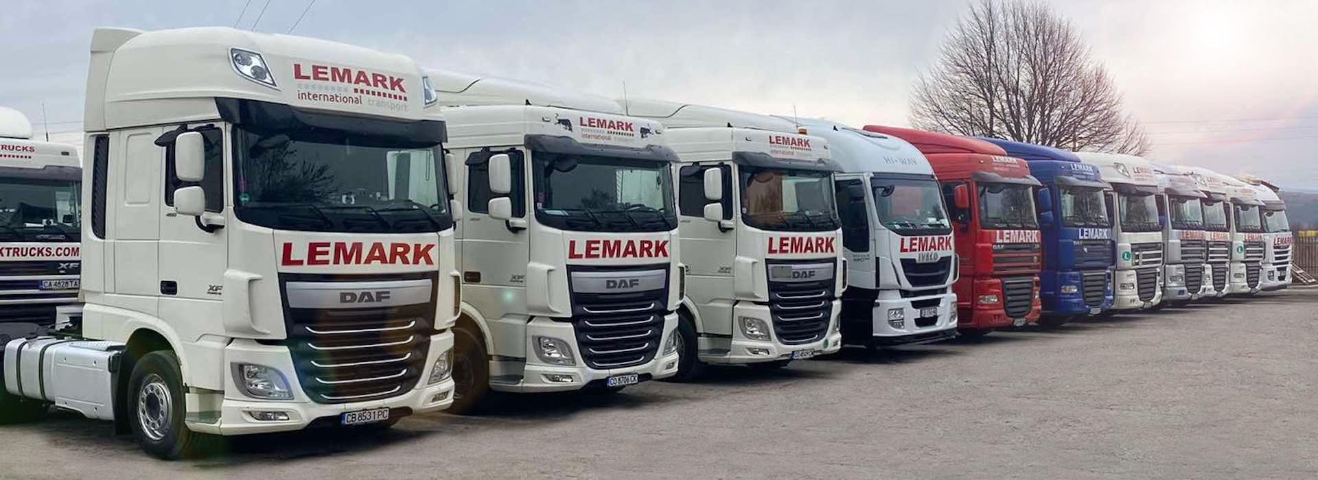Снимка на камиони